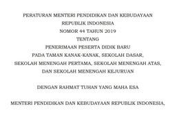 Peraturan-Menteri-Pendidikan-dan-Kebudayaan-Republik-Indonesia-Nomor-44-Tahun-2019-Tentang-Penerimaan-Peserta-didik-Baru-(-PPDB-)-2020-2021